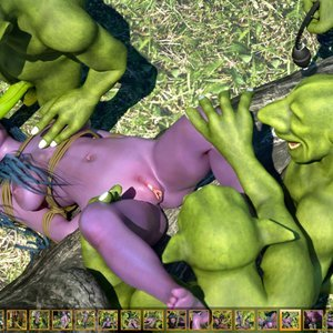 Zuleyka 3D Comics Goblins Fuck-Toy gallery image-014