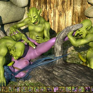 Zuleyka 3D Comics Goblins Fuck-Toy gallery image-018