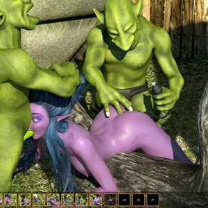 Zuleyka 3D Comics Goblins Fuck-Toy gallery image-019