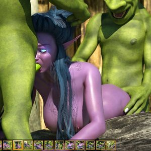 Zuleyka 3D Comics Goblins Fuck-Toy gallery image-022