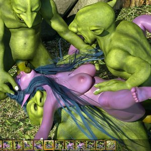 Zuleyka 3D Comics Goblins Fuck-Toy gallery image-025