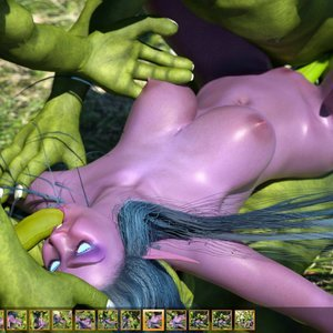 Zuleyka 3D Comics Goblins Fuck-Toy gallery image-027