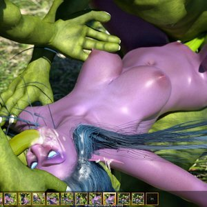 Zuleyka 3D Comics Goblins Fuck-Toy gallery image-028