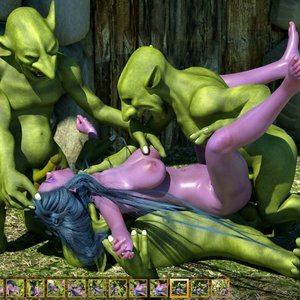 Zuleyka 3D Comics Goblins Fuck-Toy gallery image-029