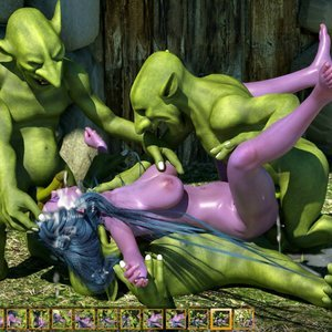Zuleyka 3D Comics Goblins Fuck-Toy gallery image-030