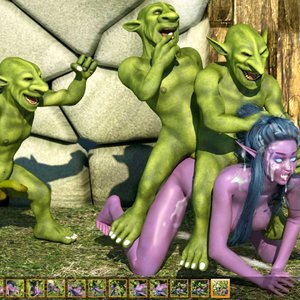 Zuleyka 3D Comics Goblins Fuck-Toy gallery image-031