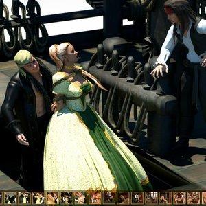 Pirates Pleasure Zuleyka 3D Comics
