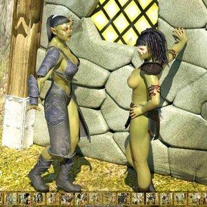 Unwanted Guests Zuleyka 3D Comics