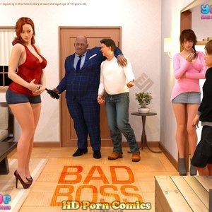 Your3DFantasy Comics – Bad Boss – Issue 1 thumbnail